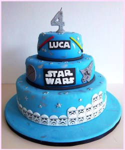 10 originales tortas decoradas de Star Wars (8)