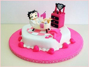 10 Hermosas tortas decoradas de Betty Boop (1)