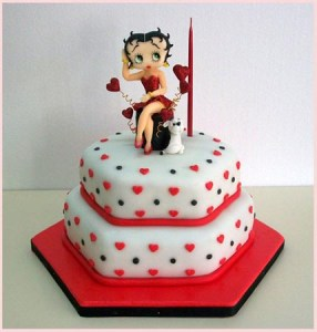 10 Hermosas tortas decoradas de Betty Boop (2)