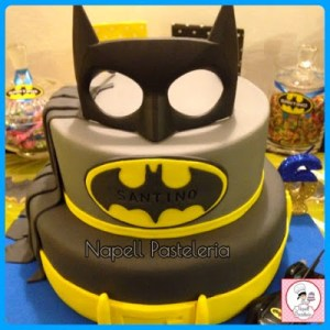 10 tortas decoradas de Batman (2)