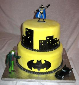 10 tortas decoradas de Batman (6)