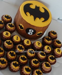 10 tortas decoradas de Batman (7)