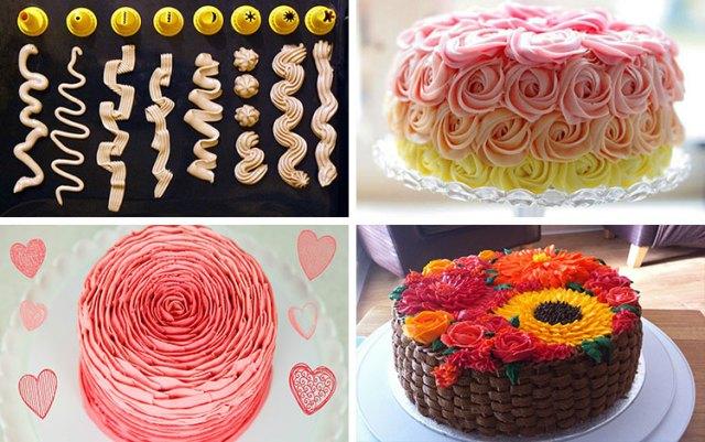 Украшение тортов в домашних условиях легко и просто