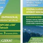ADAPCIAK z DA w Tatrach