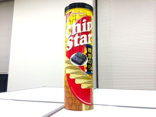 チップスターL 韓国のり風味 ファミリーマート限定