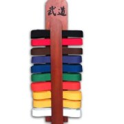 Martial Art Belt Display
