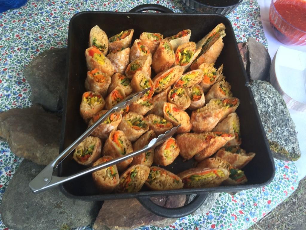 Vegetarian Egg Rolls