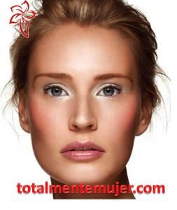 maquillaje con luz para el rostro