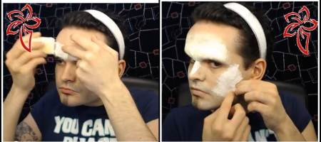 maquillaje halloween exorcista