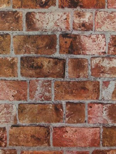 HE1046 Textured Brick Wallpaper