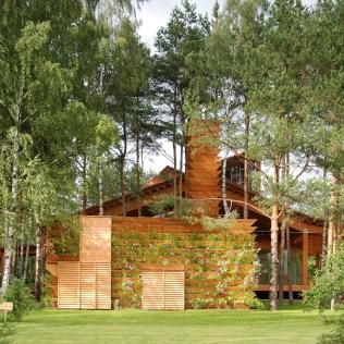 Инженерные сооружения проектируются так, чтобы оставить воздух свежим и воду участка чистой.