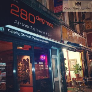 280 Degrees African Restaurant