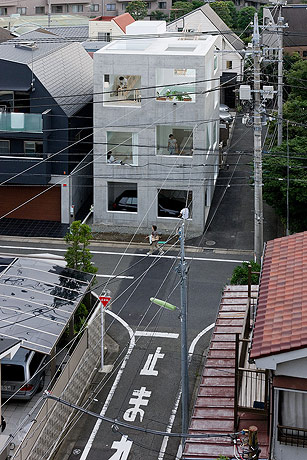 sou fujimoto house h from above