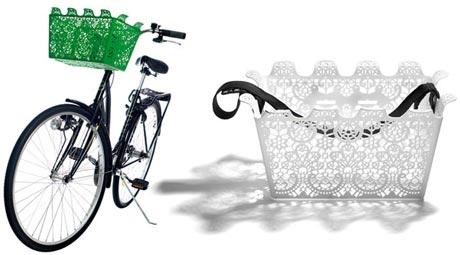 carrie bicycle basket farebny plastovy kosik na bicykel