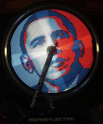 monkeylectric monkey light pro svetlo na koleso obrazy