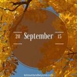 September Recap
