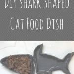 DIY Shark Shaped Cat Food Dish