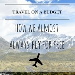 Travel On A Budget: Flying For Free