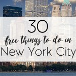 30 FREE Things To Do In New York City