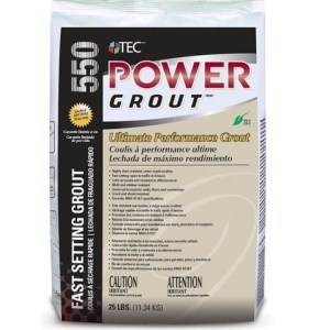 Power grout tile grout by Tec