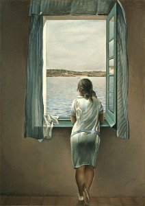 Dali_Woman at the window