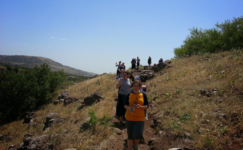 Golan Heights Hike