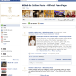 Crillon Facebook