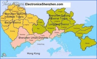 YANTIAN SHENZHEN MAP - ToursMaps.com