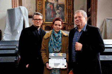 Max Urlacher, Julia Krynke und Rainer Hunold  © ZDF/Hardy Spitz