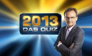 """Frank Plasberg praesentiert """"2013 - Das Quiz"""" © ARD/Marco Grob"""