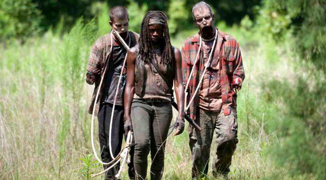 """""""The Walking Dead"""" auf Fox fährt Rekordquote ein: Walker und Michonne (Danai Gurira) in """"The Walking Dead"""". © Fox International Channels/Gene Page/AMC"""