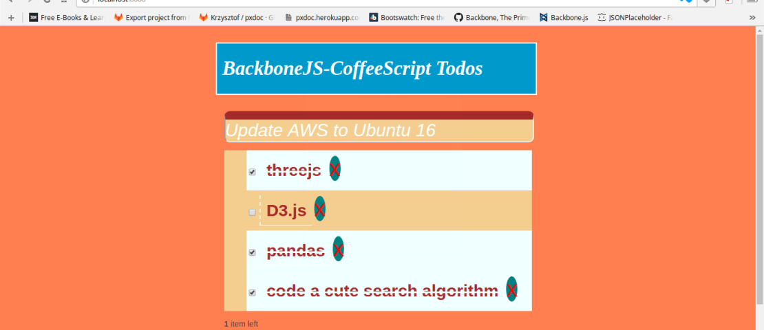 Let's Build A Todo App With BackboneJS And CoffeeScript