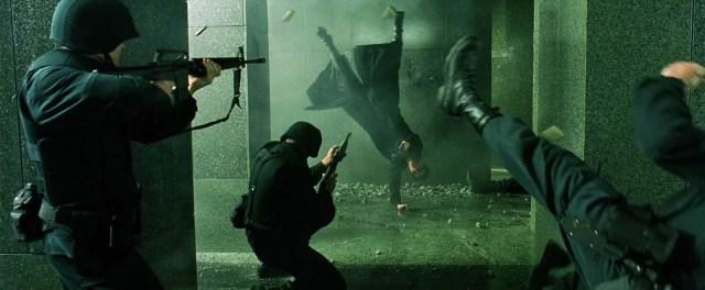 the matrix science fiction movie