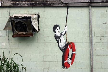 Banksy_lifesaver