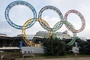 Sochi Olympic Rings