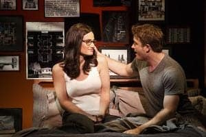Idina Menzel and James Snyder in If Then photo by Joan Marcus  40r