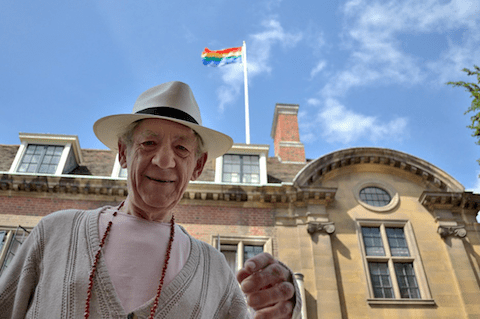 Ian McKellen at Cambridge