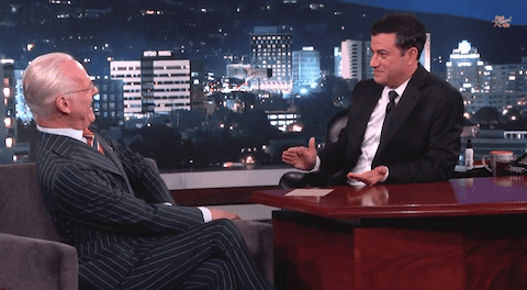Tim Gunn & Jimmy Kimmel