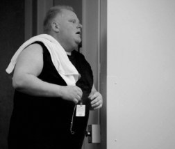 Rob Ford after the Gym