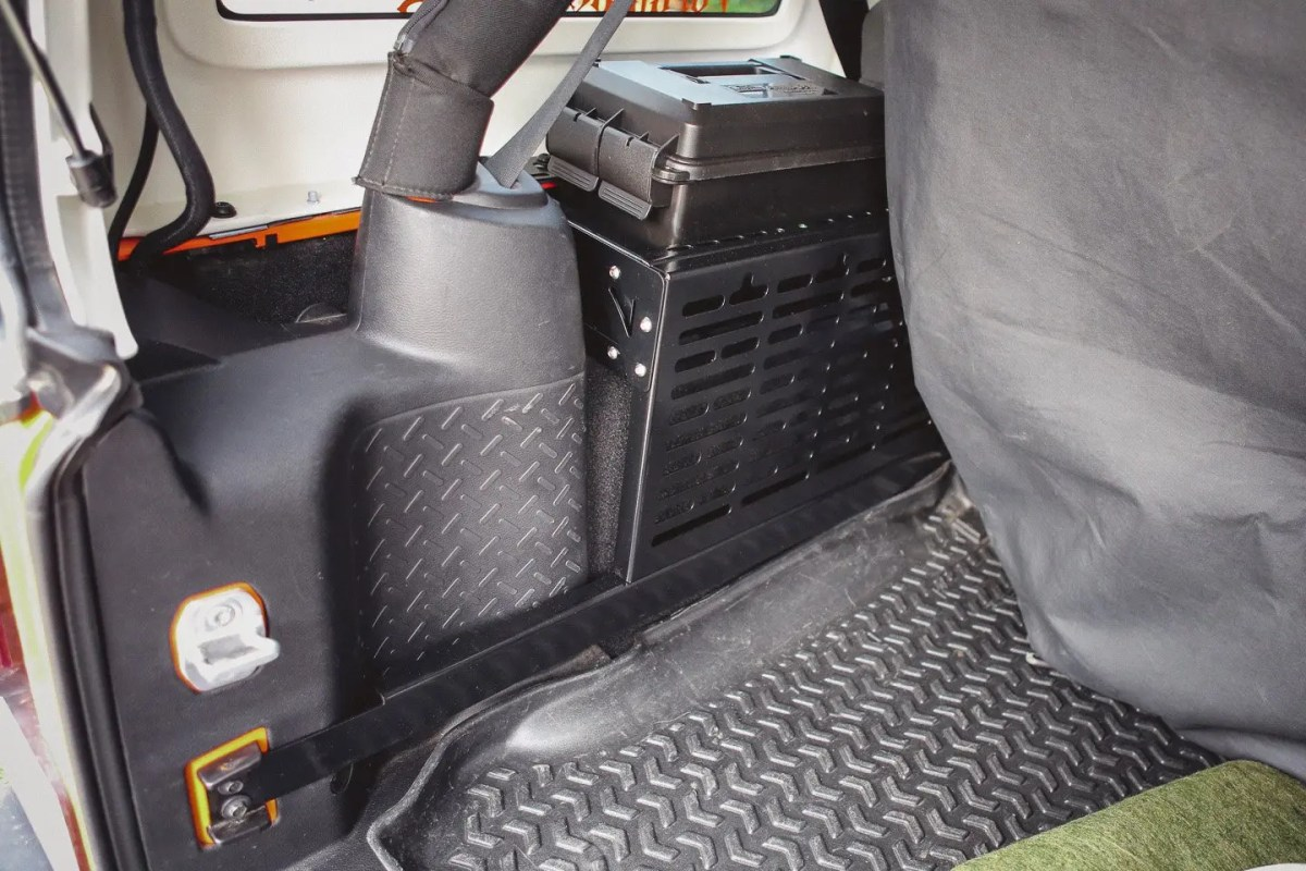 Springtail Solutions MPAC Jeep Side Rack