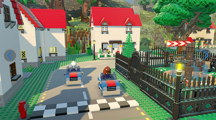Warner Bros  Interactive Entertainment  TT Games  The Lego Group     LEGO Worlds   a galaxy of imaginative worlds made of digital LEGO bricks  where players can explore  discover and create together   is now available  for Nintendo