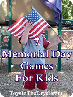7 Children's Games for Your Memorial Day Party