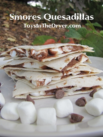 How to Make Smores Quesadillas