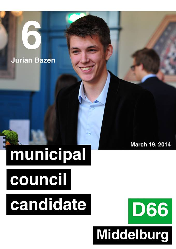 """Municipal Council Candidate, Jurian Bazen: UCR students """"provide stability"""" to Middelburg"""