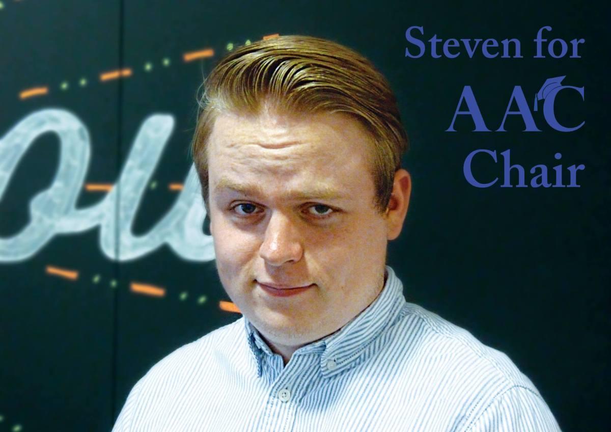 Steven van de Graaf for AAC Chair