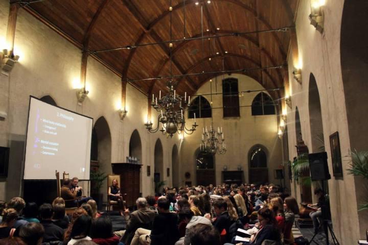 Forum February 20, 2014: Veritas Forum Middelburg presents 'Me or My Brain?' (C) Anissa Jousset