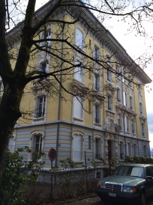 ตามรอยพระบาท Tissot Avenue 19 เมืองโลซานน์ สวิตเซอร์แลนด์