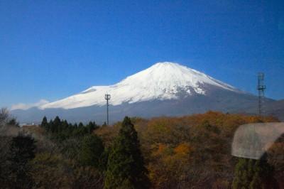 ภูเขาไฟฟูจี Fuji Mountain ระหว่างการเดินทาง