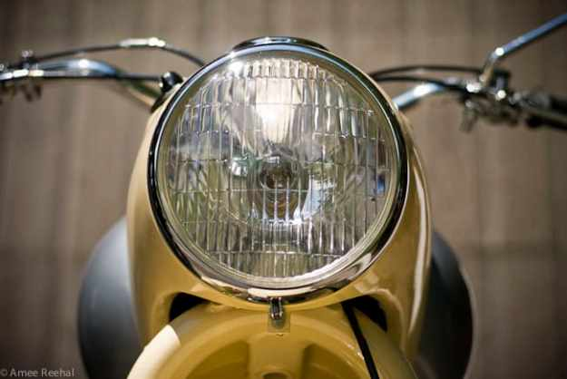 1956 Douglas Dragonfly headlight