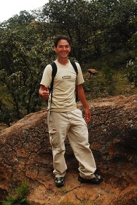 "Luis Medina, founder of Eco-Tours Guadalajara: ""This is my office."""